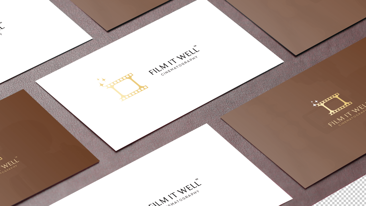 Film It Well Business Cards
